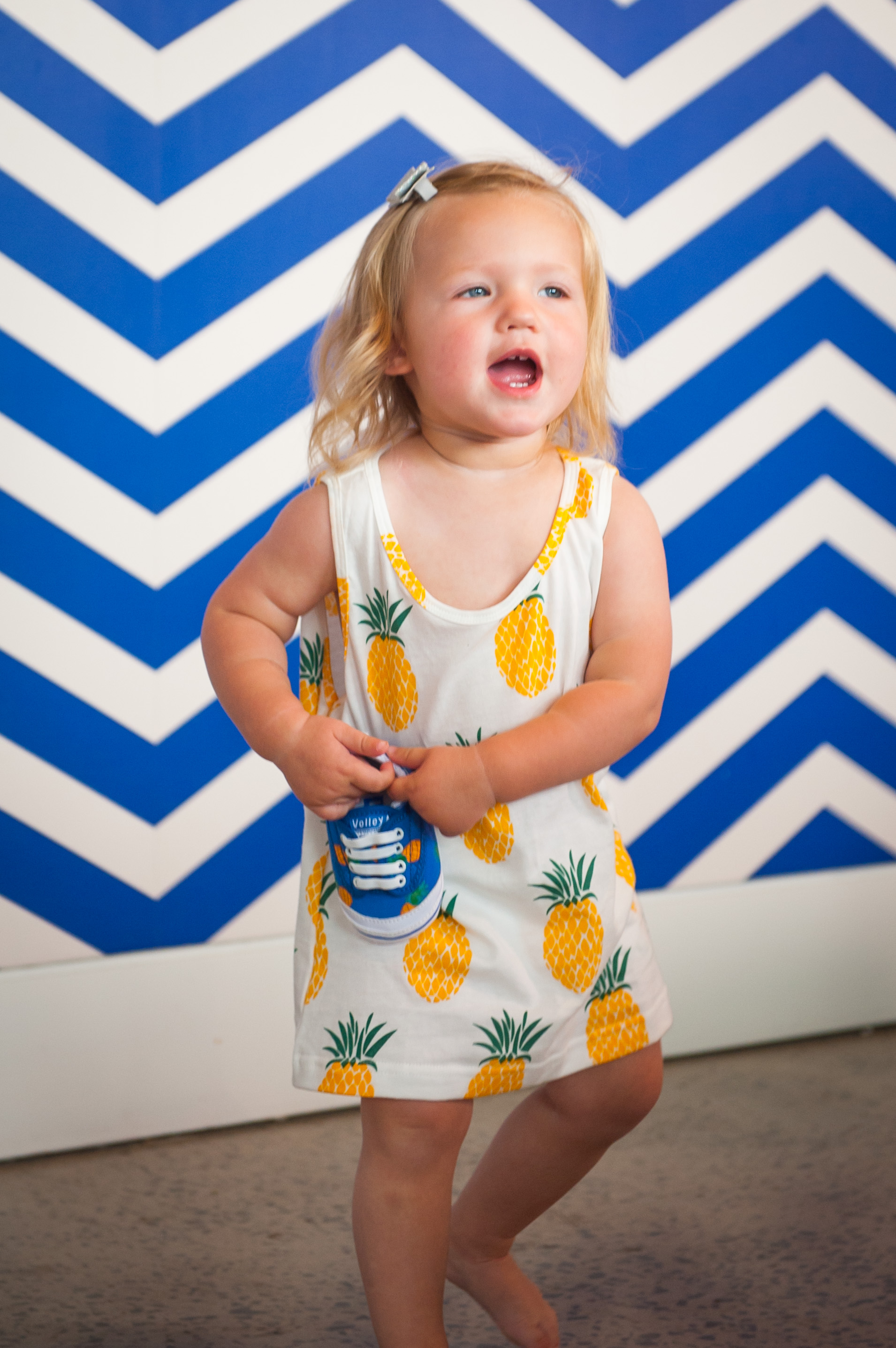 King Raja Organics Pineapple Singlet & Nappy Pants